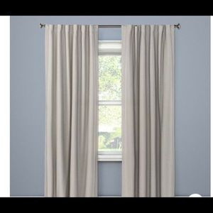 Threshold set of 2 99.9% blackout curtain 50X84